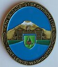4th Brigade, 91st Division USAR Powder River Wild West US Army Challenge Coin