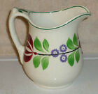 C1890 Late Adams Rose Stick Spatterware Staffordshire Creamer Cream Pitcher Meir