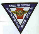 NAS NAVAL AIR STATION JRB WILLOW GROVE PA JOINT RESERVE BASE NAVY SQUADRON PATCH