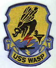 CV-18 CVS-18 USS WASP USN NAVY AIRCRAFT CARRIER SHIP SQUADRON PATCH