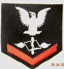 Vietnam era US Navy  PO3 ' Aviation Maintenance Admin.' Blue/red Rating