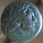 ANCIENT KYRENAICA EGYPT PTOLEMY  LIBYA 7.2g 22mm COIN 200 BC Rare BRONZE