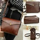 Fashion Women Leather Shoulder Bag Handbag Tote Purse Hobo brown Messenger bag