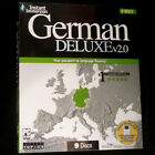 New Learn to Speak Instant Immersion GERMAN Language DELUXE 9 CDs NIB ( PC+Audio