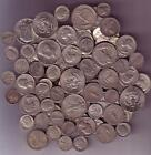 $100 Face Of 90% Circulated Junk Silver Coins-Halves,Quarters&Dimes All Pre 1965