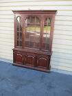 52608 THOMASVILLE Solid  Cherry China Cabinet Curio