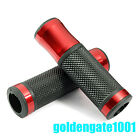 Red Motorcycle Chopper Scooter Handlebar Rubber Hand Grips for 7/8'' Yamaha GG
