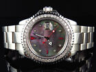 Mens Rolex 40 MM Yachtmaster 16622 Oyster Stainless Steel Diamond Watch 3.5 Ct