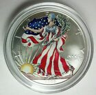 1999 Colorized America Eagle Silver Dollar 1 troy Oz Lowest on ebay