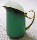 CARLTON WARE HANDPAINTED ART DECO VERT ROYALE LARGE JUG PEARLISED LUSTRE