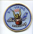LOCKHEED S-3 VIKING 100 CARRIER LANDINGS TRAPS NAVY SQUADRON CENTURION PATCH