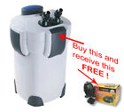 AQUARIUM CANISTER FILTER 9WATT UV STERILIZER! With Free Vibration Pump!!