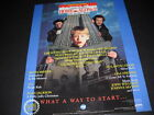 HOME ALONE 2 Lost In New York 1992 music soundtrack PROMO POSTER AD mint cond