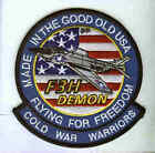 McDONNELL F3H DEMON US NAVY CARRIER FIGHTER SQUADRON AIRCRAFT PATCH