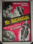 1979 Bollywood Poster MR NATWARLAL Amitabh Rekha 41001