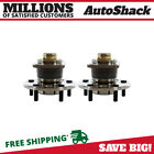 2 New Premium Rear Wheel Hub Bearing Assembly Pair Set For Left and Right