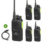 5x Baofeng GT-1 400-470MHz FM Two-way Ham Radio Walkie Talkie + Cable US!