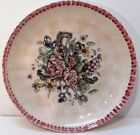 HIMARK Italian Pasta Bowl Serving Platter Floral Old World Look Made in Italy