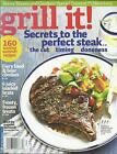 Grill It magazine Steak Summer recipes Fiery food Beer combos Loaded brats