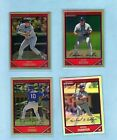 (52) DIFFERENT 2007 BOWMAN CHROME REFRACTORS *Halladay, Holliday, Miguel Cabrera