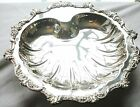Silver Plated 3-Footed Shell Tray