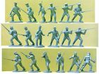 Plastic Toy Soldiers Civil War 9 Union Militia Alamo Expeditionary Force 1/32