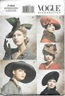 VOGUE ACCESSORIES VINTAGE HATS PATTERN BASES ON STYLES FOR 30'S AND 40'S