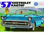 2013 Lindberg 1957 Chevy Ragtop 1/32 Scale  #105  model kit new in the box