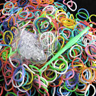 600pcs Mix Color Loom Rubber Bands With 24 Clips 1 Hook Craft Kits Gifts nc350