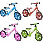 Boppi Childrens Kids Balance Bike Metal Boys Girls Kids Running Training Bike