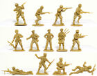 WWII Toy Soldiers Matchbox British 8th Army 15 Figures 1/32 Timpo Airfix Type