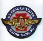 NAS NAVAL AIR STATION WILLOW GROVE PA  NAVY BASE SQUADRON PATCH