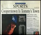 L.A. Times Sports Section 1997-03-06 - Tommy Lasorda Elected to Hall of Fame