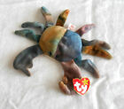 TY Original Beanie Baby Claude the Crab Date of Birth Sept 3, 1996  New w/tag