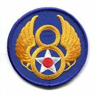 8th AIR FORCE ARMY AIR CORPS WW2 AAC USAF SQUADRON PATCH