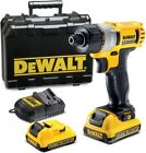 DeWalt Sub Compact XR 10.8V Screwdriver + 2x 2.0AH Li-Ion Batteries DCF610D2
