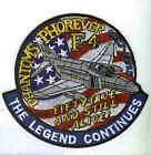 MCDONNELL DOUGLAS F-4 PHANTOM 55th ANNIV NAVY USMC USAF FIGHTER SQUADRON PATCH