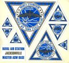 NAS NAVAL AIR STATION JACKSONVILLE DECAL SET NAVY BASE SQUADRON WITH PATCH IMAGE