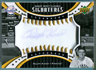 2007 Sweet Spot Classic Signatures RALPH KINER Gold Stitch Auto Rare HOF SP # 15