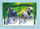 MICHAEL STRAHAN JASON TAYLOR 2003 TOPPS RECORD BREAKERS AUTOGRAPH AUTO