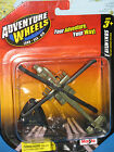 MAISTO ADVENTURE WHEELS TAIL WINDS AH-64 APACHE HELICOPTER **BREAND NEW