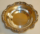 OLD ENGLISH POOLE SILVER PLATED BOWL 6