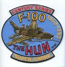 NORTH AMERICAN AVIATION F-100 SUPER SABRE USAF TFS FIGHTER SQUADRON PATCH