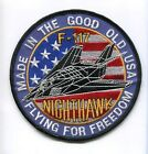 LOCKHEED SKUNKWORKS F-117 NIGHTHAWK STEALTH USAF FIGHTER SQUADRON PATCH