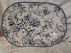 222 Fifth Adelaide Blue Toile French Country Bird Flower 14