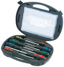Draper Expert Screwdriver Set with Magnetic Pickup In Case Plain
