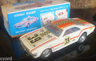 Tin Toy Battery Operated Car Acrobat Chief Mystery Bump n Go OLDSMOBILE TORONADO