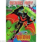 BATMAN BEYOND INVITATIONS 8 Birthday Party Supplies Invites Stationery Cards