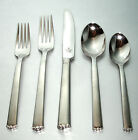 Waterford Lismore Bead 5 Piece Place Setting 18/10 Stainless Flatware New