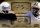 Justin Blackmon Kendall Wright 2012 Sage Rookie Next Dual Autograph #1 10 RC